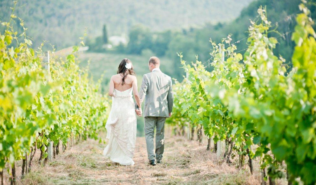 vineyards wedding Italy