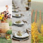 Ideas for a fall unconventional wedding