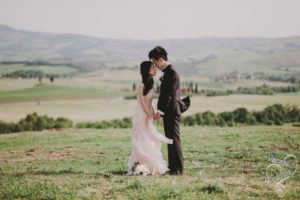 tuscany wedding in val d orcia