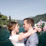 Spring wedding on the Lake