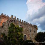 Castle intimate wedding