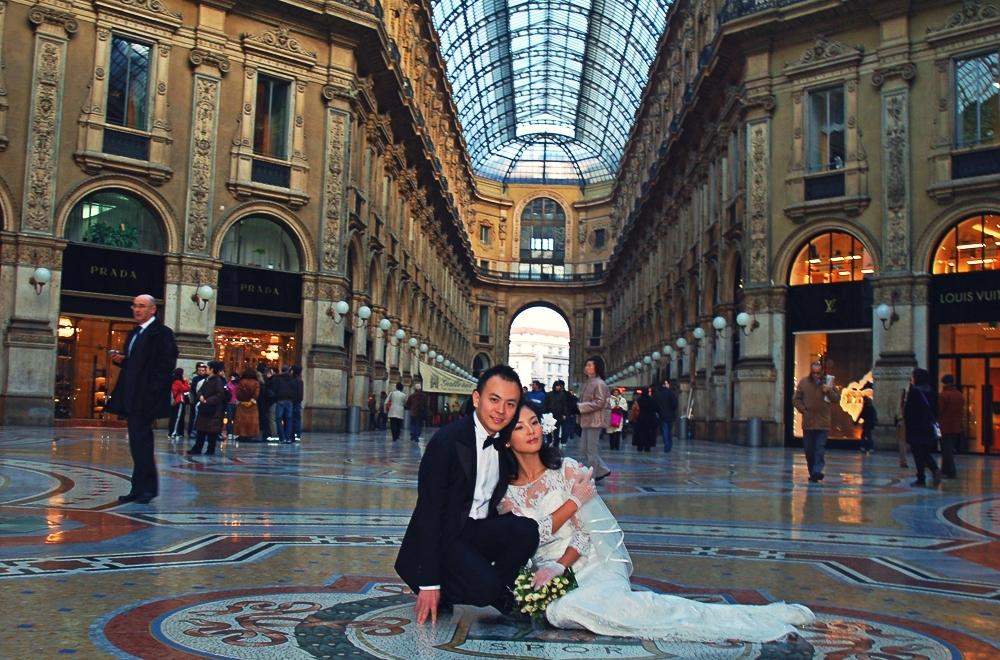 WEDDING IN MILAN ITALY
