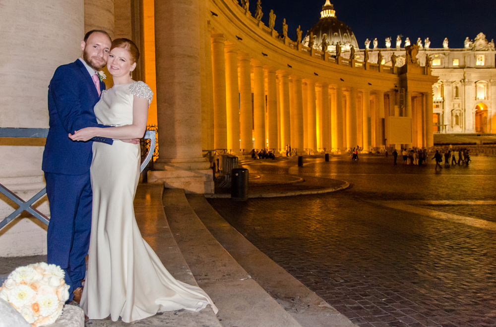ST PETER BASILICA RELIGIOUS WEDDING ROME