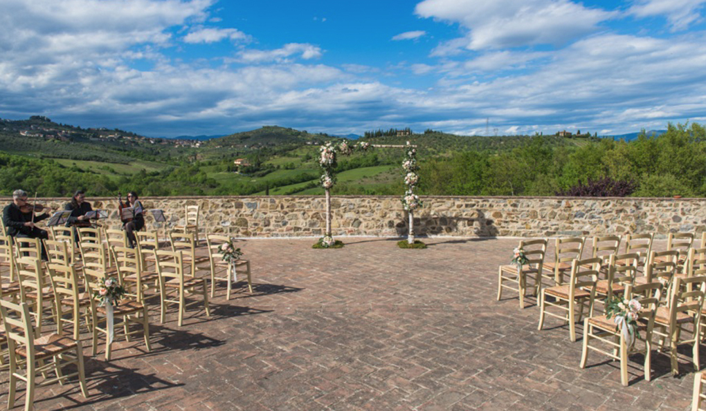 WEDDING IN TUSCANY  - TUSCANY HILL COUNTRY HOUSE