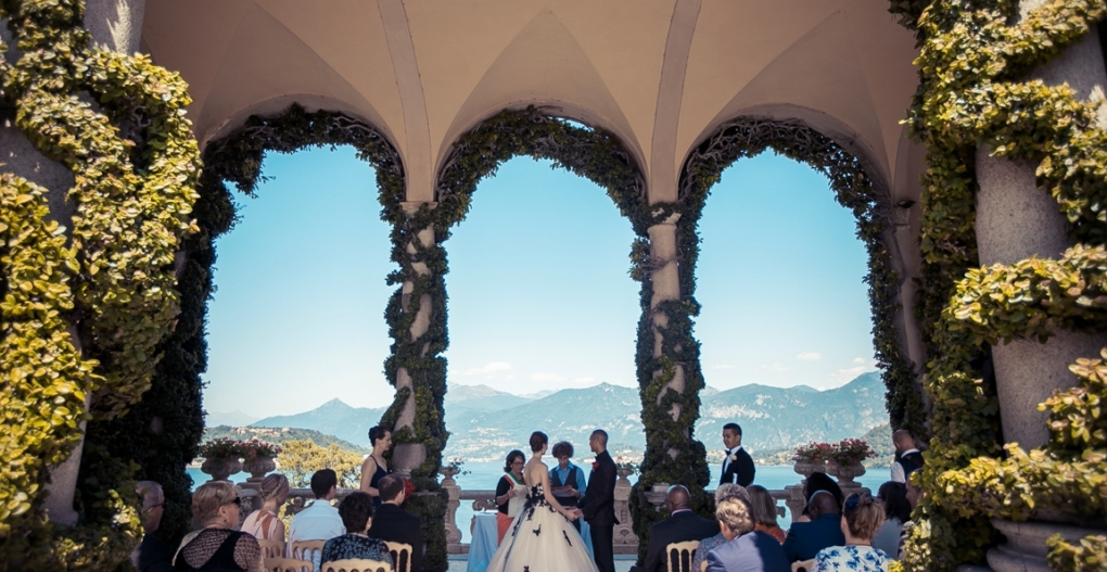 Villa del Balbaniello Wedding Ceremony