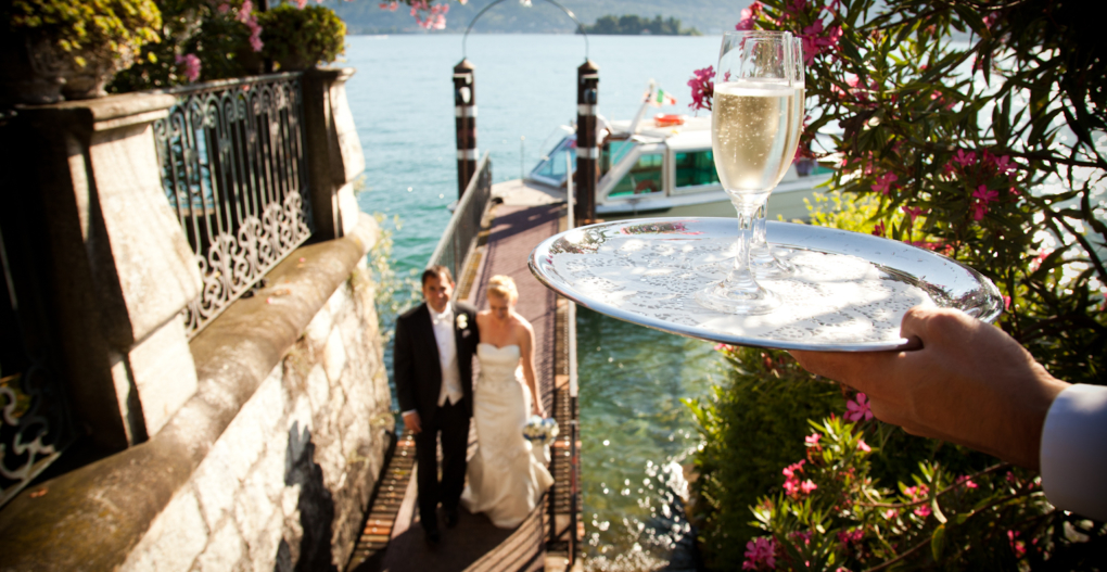 lake orta wedding ceremony