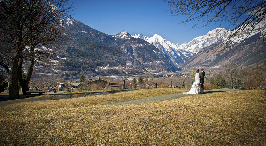 Winter Wedding Italy Mountain