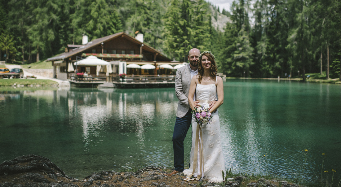 Mountain Lake Wedding Italy
