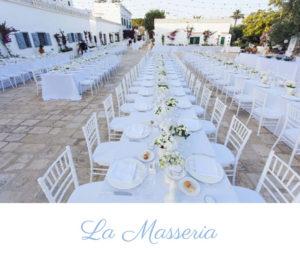 Wedding reception in Apulia Italy