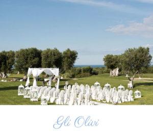 outdoor wedding ceremony Puglia