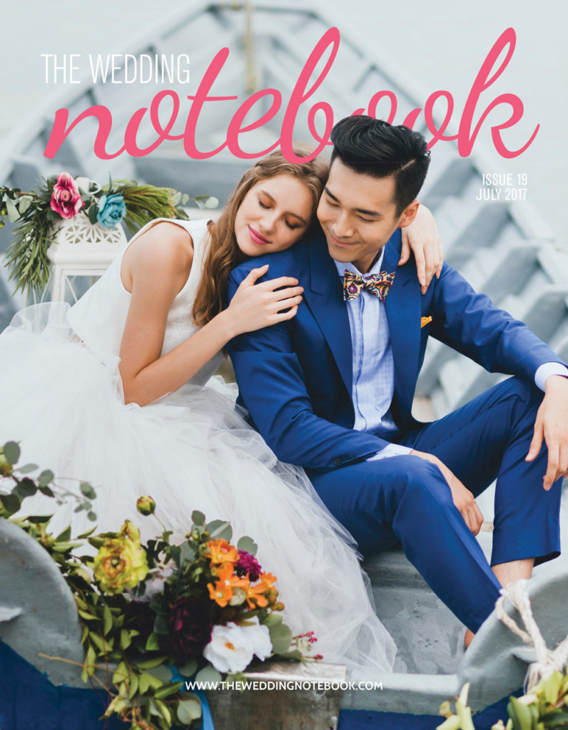 Read more about the article Featured on The Wedding Notebook Magazine July
