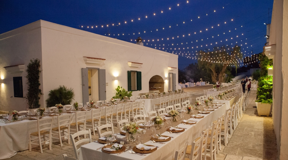 APULIA WHITE FARMHOUSE WEDDING LIGHTS