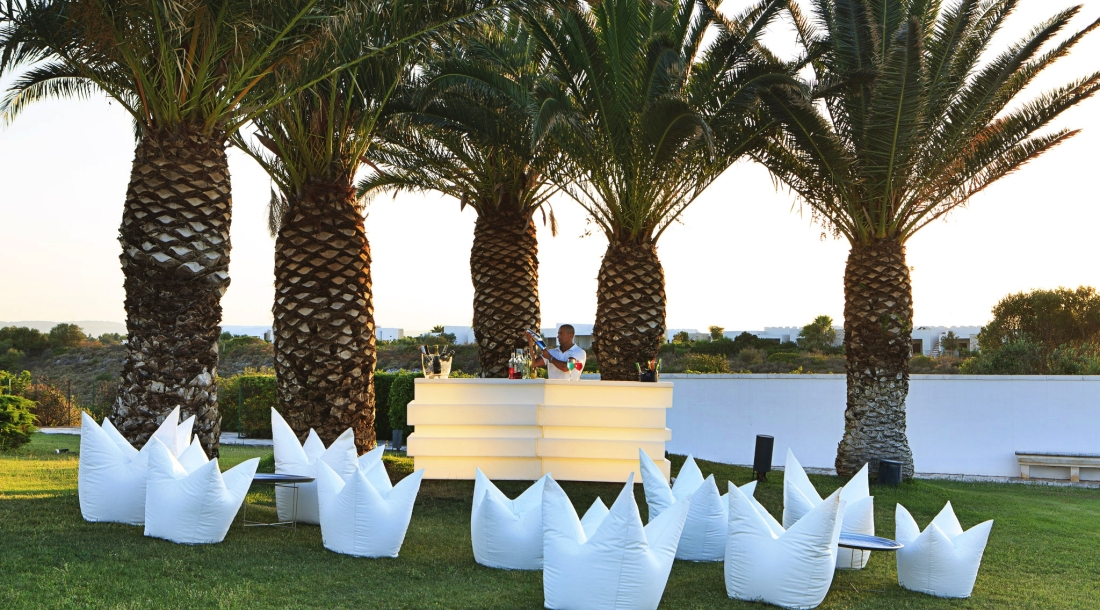 WEDDING IN PUGLIA - WELCOME COCKTAIL AND OPEN BAR