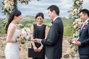 italian wedding officiant