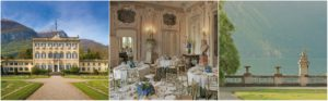 luxury villa wedding ceremonies and dinner lake como