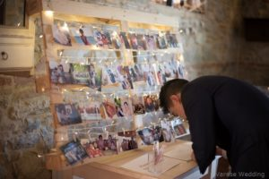 wedding guests book idea