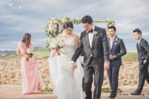 """outdoor wedding ceremony in italy"""
