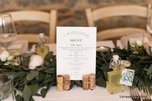 """""""wedding menu olive theme tuscany wedding"""""""