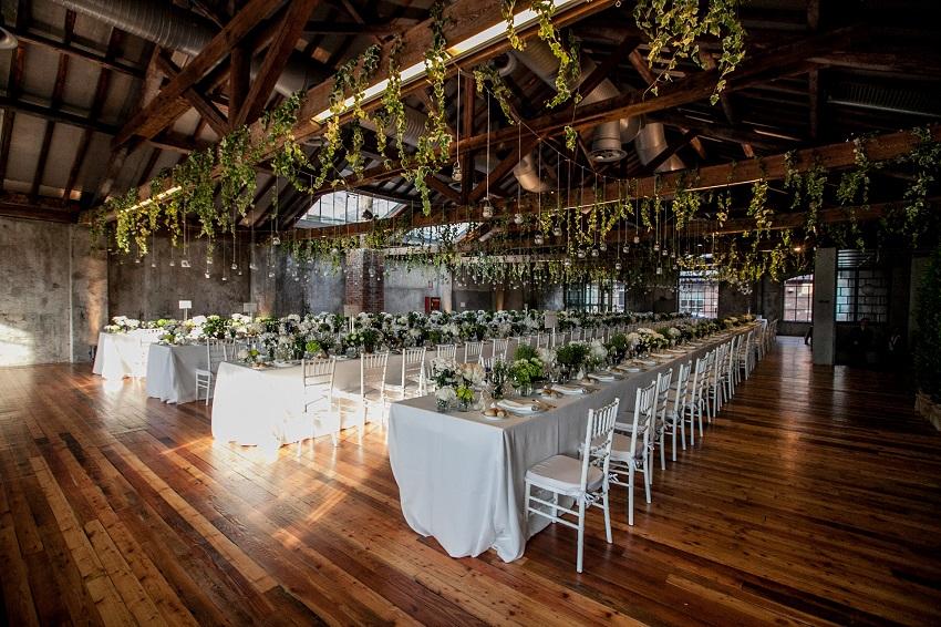 10 Must-See Winter Wedding Venues in Italy - loft - industrial wedding venue