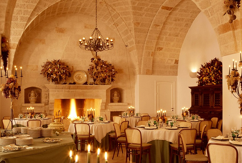 10 Must-See Winter Wedding Venues in Italy - white masseria Puglia