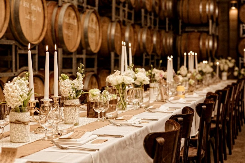 10 Must-See Winter Wedding Venues in Italy - wine cellars - vineyard