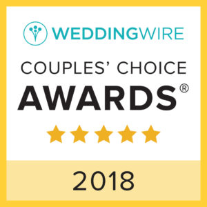 VARESE WEDDING Honored for Excellence in 10th Annual WeddingWire Couples' Choice AwardsⓇ