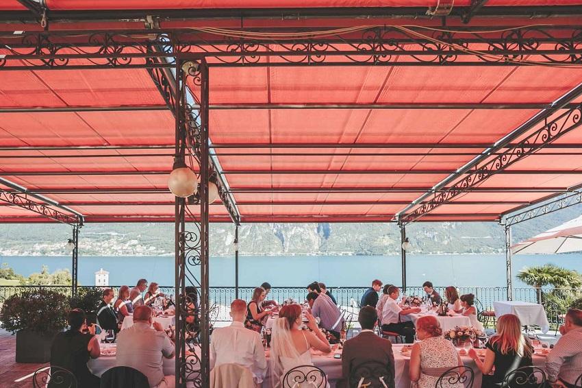 lake como restaurant wedding