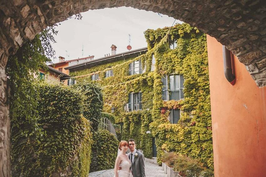 Lake Como Romantic Wedding