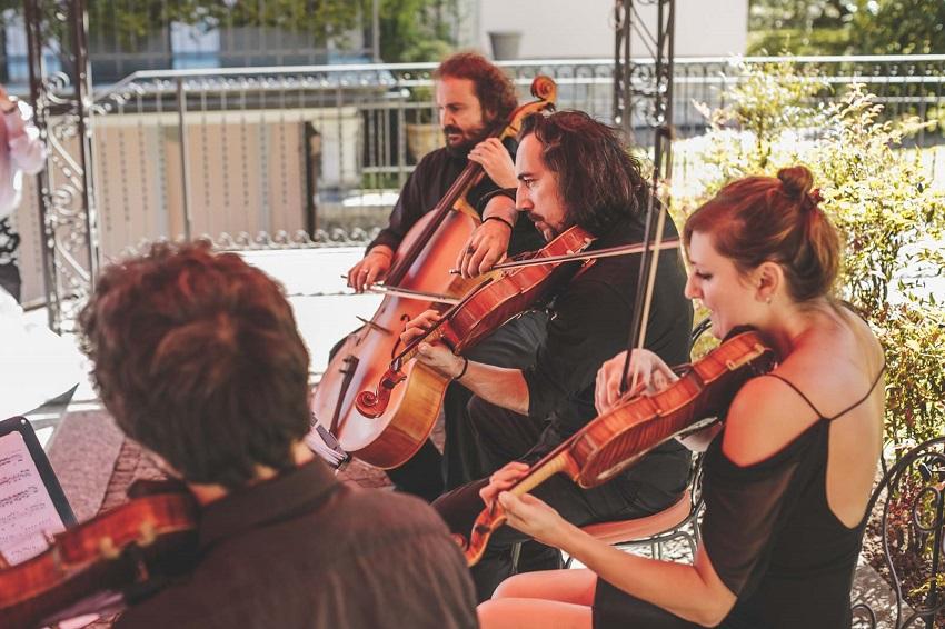 string quartett italy wedding