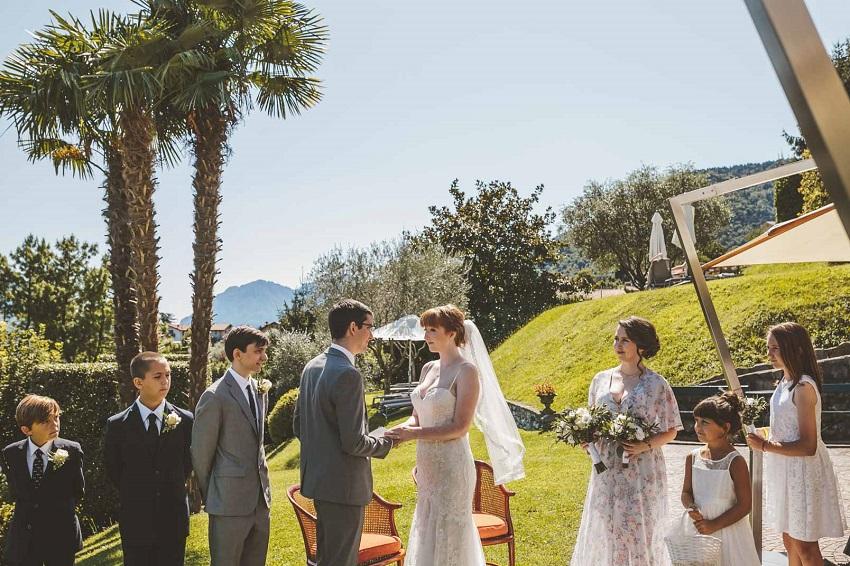summer wedding italy
