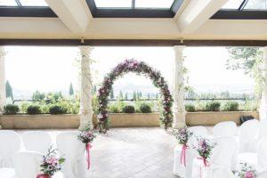 tuscany wedding ceremony