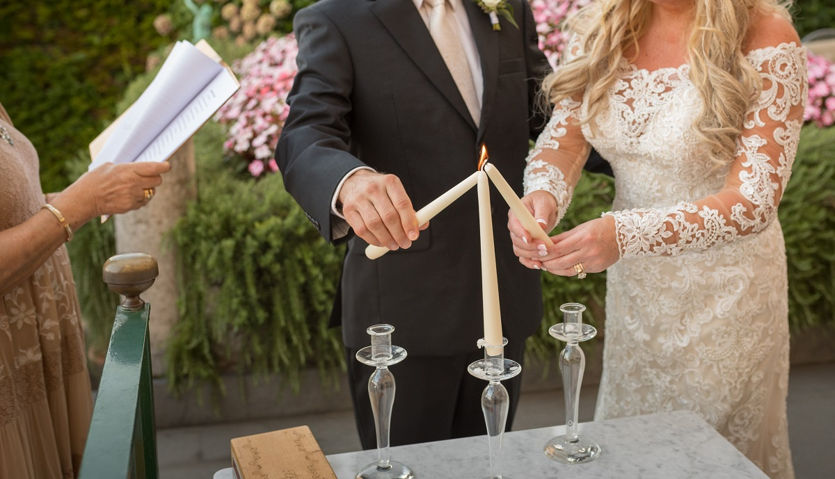 UNITY CANDLE WEDDING ITALY